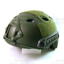 Emerson Fast PJ Style Tactical Airsoft Helmet Without Goggles Low Price OD Green
