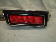 1971 Ford LTD Tail Light Housing, Lens, Chrome Trim, Gasket, & Plug