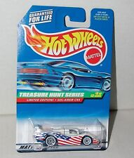 Hot Wheels Treasure Hunt Sol-Aire CX4 #9/12 Limited Edtion #757 Malaysia 1998