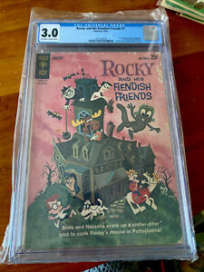 Rocky and His Fiendish Friends #1  CGC 3.0
