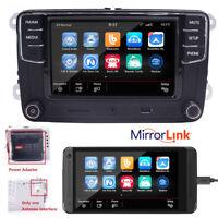 """6,5""""Autoradio VW RCD330G+ Mirrorlink,BT,USB,RVC,AUX,SD,CADDY,TIGUAN,POLO,GOLF,CC"""