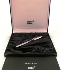Mont Blanc Meisterstuck Fountain Pen Stainless Steel 2626 Mod. 23144 NEW #32699