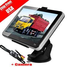 7'' Car Truck GPS Navigation System w/ Free Lifetime Maps 4GB Navigator Sat Nav#