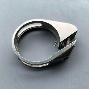 31.8 mm Solid Titanium 15g Ultralight SeatPost Clamp Seat Post + Titanium Bolt