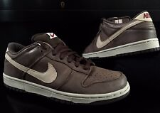 premium selection 3de44 14c25 2005 NIKE DUNK LOW PRO SB PREMIUM BROWN LEATHER DARK MOCHA CHINO 10.5 DS  NEW QS