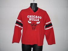 Vintage 80s 90s Chicago Bulls 3/4 Sleeve T-Shirt Youth Large