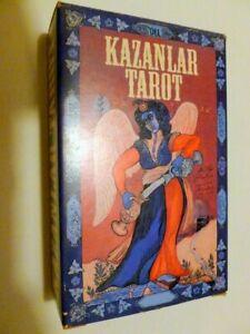 "TAROCCHI "" KAZANLAR TAROT "" 78 carte con libro istruzioni NUOVO RARO"