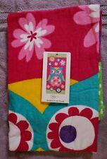 "Mainstays Beach Towel Bath Towel Owl 100% Cotton 28""×60"