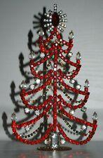 S53 Christmas tree, Christmas decoration,Czech vintage, Gablonz, Weihnachtsbaum