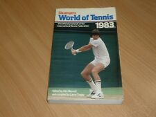 ITF World of Tennis [1983] ANNUAIRE [John Barrett] Jimmy connors