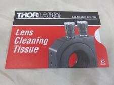 NEW THORLABS Lens Cleaning Tissue 25 sheets