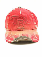NWT UNISEX TRUE RELIGION HAT/CAP TRUE RED OSFA STY#TR1995 MSRP$85