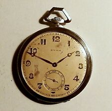 Antique silver pocket watch CYMA swiss made