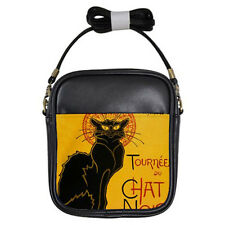 New Black Cat Le Chat Noir for Girls Sling Bag Free Shipping