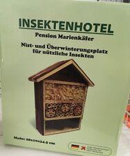 Insektenhotel Insektenhaus Insekten Nistkasten Brutkasten Bienen Hotel NEU NEU