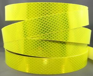 3M Fluoro Yellow Green (4083) Diamond Grade Class 1 Reflective Tape 34mm x 1m