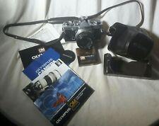 Olympus OM1 N 35mm SLR Film Camera with 50mm 1.8 lens Kit.Excellent.Brown Case.