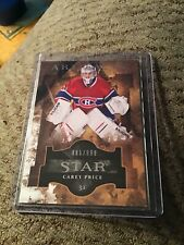 11/12 Upper Deck Artifacts Carey Price Star Insert Card #885/999