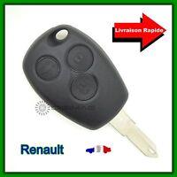 Coque Télécommande Plip Clé Renault 3 Boutons Clio Modus Twingo Kangoo + Clé