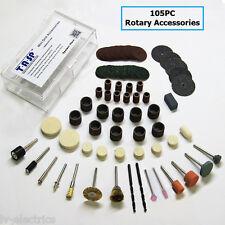 105PC Outil Rotatif Mini Accessoire Accessoires Kit de fixation 3000 4000 pour Dremel