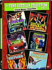 NEW -Toho Godzilla Collection Vol. 1 [3-DVDs] 6 Films - Mothra King Destroyah
