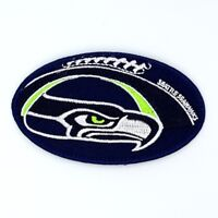 Seattle Seahawks Iron on Patches Embroidered Badge Patch Applique Emblem Ball FN