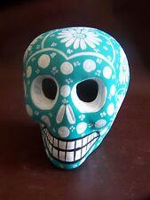 Day of the dead,Hand painted Ceramic skull,Catrina,Sugar skull,Small,Mexico,#10