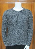 Philosophy Republic Black Pull Over Long Sleeve Cotton Blend Sweater Sz XL NWT