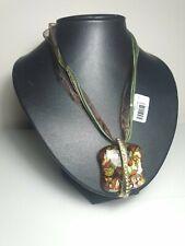 Pendant Necklace Art Deco Style