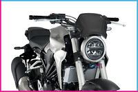 PUIG FRONTAL PLATE IN ALUMINIUM HONDA CB300R NEO SPORTS CAFE 18 BLACK
