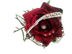 Jewellry Diamante Bling Bracelet Silver High Quality Unique Design Wedding