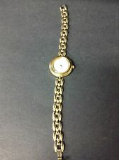 Gucci Genuine White Dial Gold Tone Ladies Watch 11/12 Free Shipping