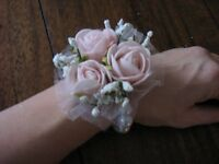 Brautschmuck Braut Armband Armschmuck Hochzeit ~ Handarbeit ~ rosa NEU