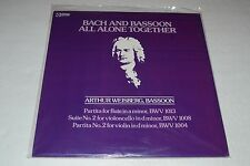 Bach and Bassoon~All Alone Together~Arthur Weissberg~Crystal~SEALED~FAST SHIP