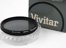 VINTAGE VIVITAR POLARIZER 49mm CAMERA FILTER