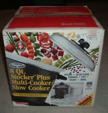 NEW! Vintage Dazey DCP-860 Chef's Pot Stocker Multi Deep Fryer & Slow Cooker NIB