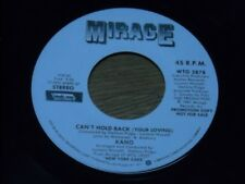 KANO 45.  CAN'Y HOLD BACK.  /  STEREO & MONO. KILLER BOOGIE.  NM-.