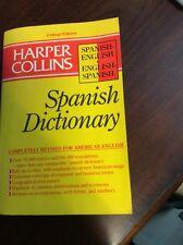 HarperCollins English-Spanish/Spanish-English Dictionary:College Ed 1990,paper)