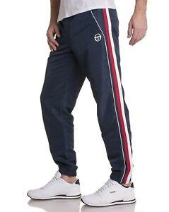 SERGIO TACCHINI Men's SMALL FIT Sweatpants Joggers Tracksuit Bottoms  S M  BLUE