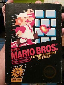 Super Mario Bros. (Nintendo Entertainment System, 1985) with Original Box NES