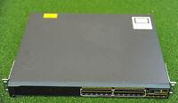 CISCO 2960S WS-C2960S-24PS-L 24 PoE Port Network Switch w/C2960S-STACK - 1 YrWty