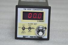TOKYO KEISO Flow Rate Controller TM-1000 CONVERTER, TM-1410-21-2