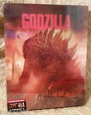 GODZILLA (2014) Blu-Ray 3D+2D BLUFANS China Exclusive STEELBOOK LENTICULAR