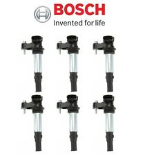 For Saab 9-3 2.8L Set of 6 Ignition Coil Spark Plugs Connect Bosch 12629037