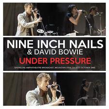 Nine Inch Nails with David Bowie : Under Pressure: Shoreline Amphitheatre,