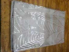 Duck River Textile Leah Floral Leave Window Curtain 2 Panel Drape Set, 39 x 96,