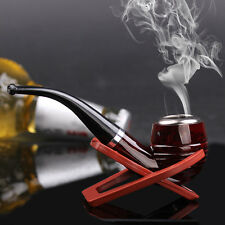 pipe en Bois-Tabac à Pipe-Cigarettes-Cigare-Durable-Cadeau-pipe-fumeur-pipe 2