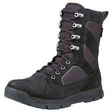 NEW Men's Timberland 8'' Field Guide Tall Cordura Winter Boots Black Beige
