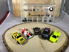 TYCO 440 INDY F1 HO Slot Cars  PLUS Parts and 4 more cars all Working