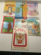 Lot Of 7 Paperback Picture Books Early Readers, Step Into Reading & Level 1